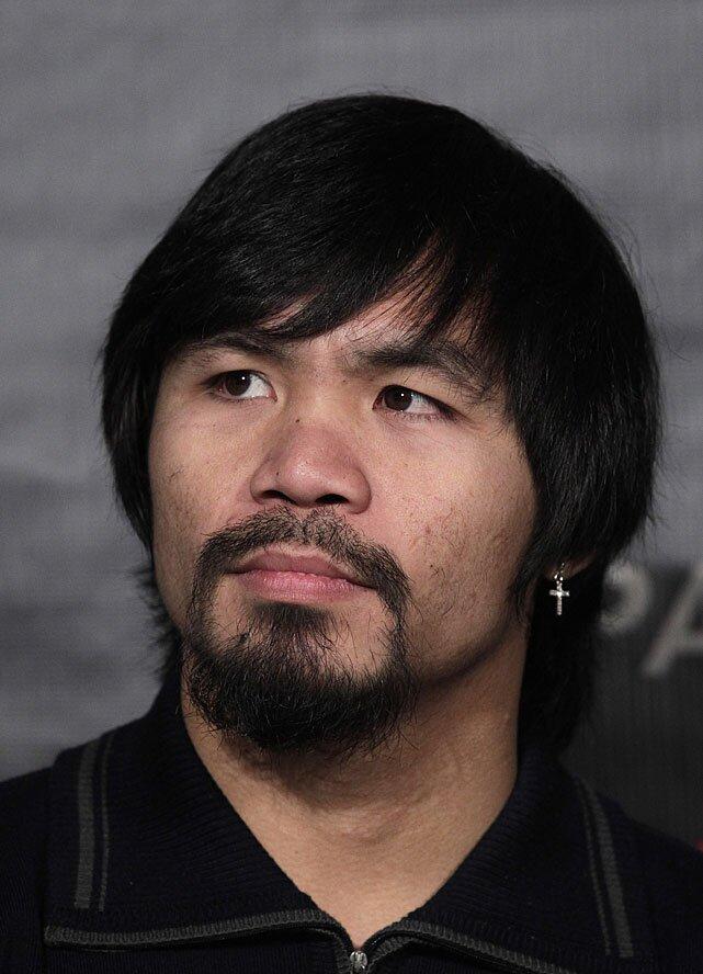 Manny Pacquiaos New Haircut Si