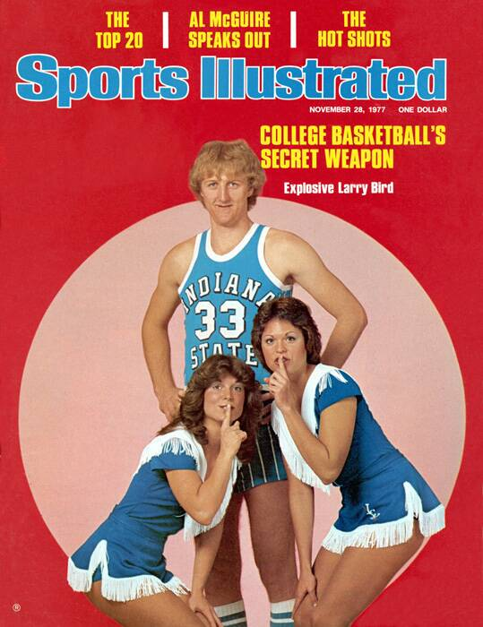 separation shoes 82b25 70cf0 Larry Bird: The Indiana State Years | SI.com