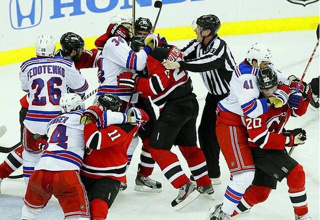 The Devils-Rangers Rivalry  6d499e59982
