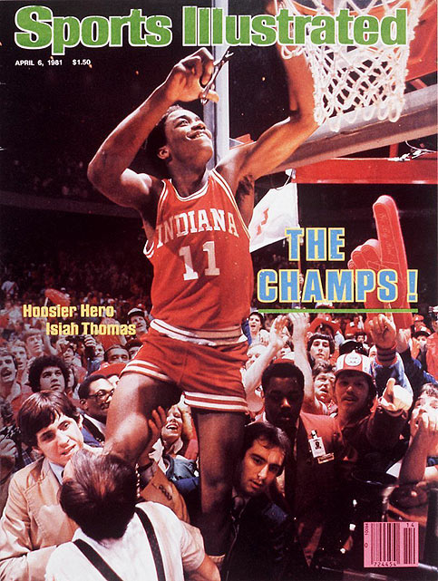 The stars aligned for Thomas and Indiana during the 1980-81 season. With Thomas as the captain, the Hoosiers went 26-9 before cruising to the 1981 national title. Thomas took home the Most Outstanding Player award and shortly thereafter declared for the NBA draft.