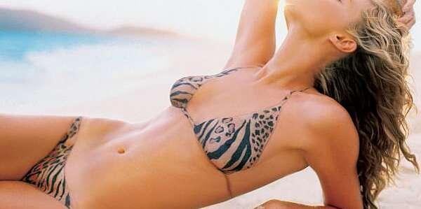Rebecca Romijn Si Body Paint