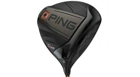 A very thin, very strong forged T9S+ clubface on the Ping G400 driver flexes more at impact for added ball speed.