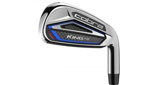 A thinner and lighter forged faceplate on the Cobra King F8One irons adds ball speed and distance