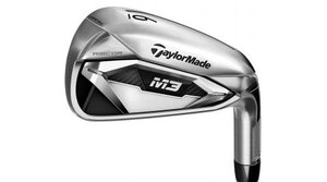 Tungsten sole weighting on the TaylorMade M3 irons lowers the CG for improved launch and stability