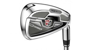 The new Wilson Staff D350 irons.