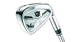 The new Wilson Staff FGTour V6 iron.