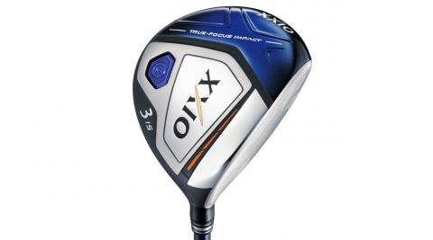 Unique variable-thickness sole and rolled cup-face design on the XXIO X fairway woods optimize launch and distance.