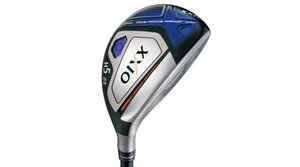A progressive head-thickness design and lighter weight on the XXIO X hybrid improve both power and accuracy.