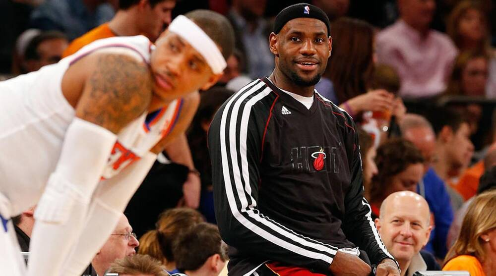 34a489a90 How your team will try - and fail - to land LeBron James this offseason