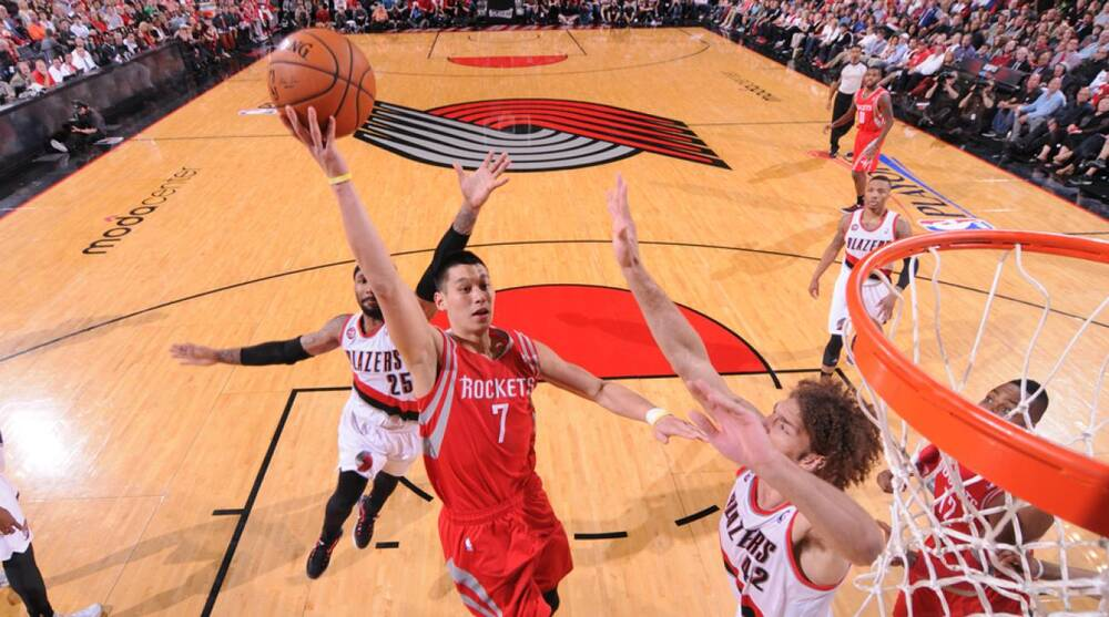 d0640ff9c5a Jeremy Lin averaged 12.5 points and 4.1 assists in his second season with  the Rockets last