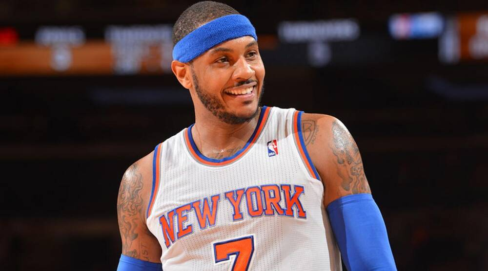 36b040787 Carmelo Anthony re-signs with Knicks