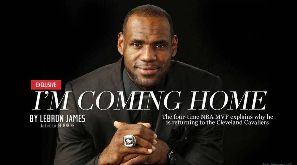 Lebron James Announces Return To Cleveland Cavaliers Si