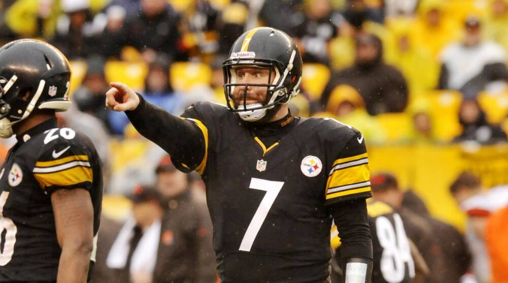 95158c237db Steelers quarterback Ben Roethlisberger looks to get back to playoffs