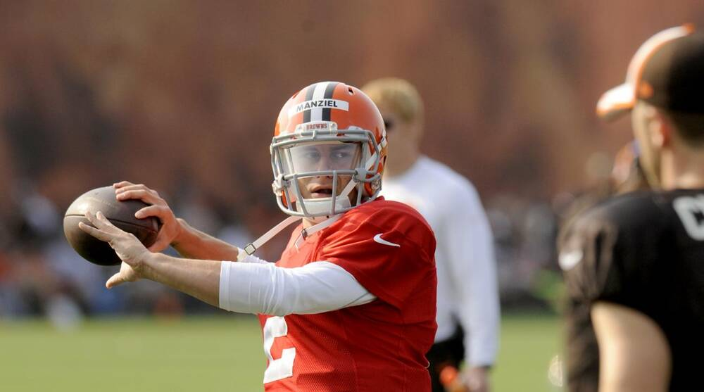 df103fefc Diamond Images Getty Images. Steelers defensive coordinator Dick LeBeau  said he expects Browns quarterback Johnny Manziel ...