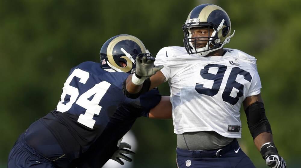 St Louis Rams Defensive End Michael Sam