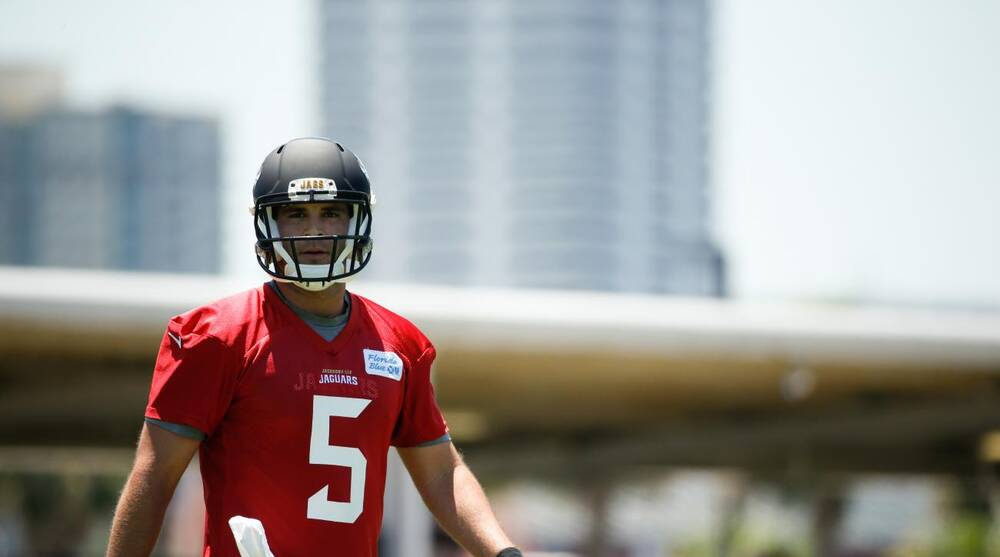 Rookie Quarterback Blake Bortles Is Listed As A Backup On The Team S First Depth Chart