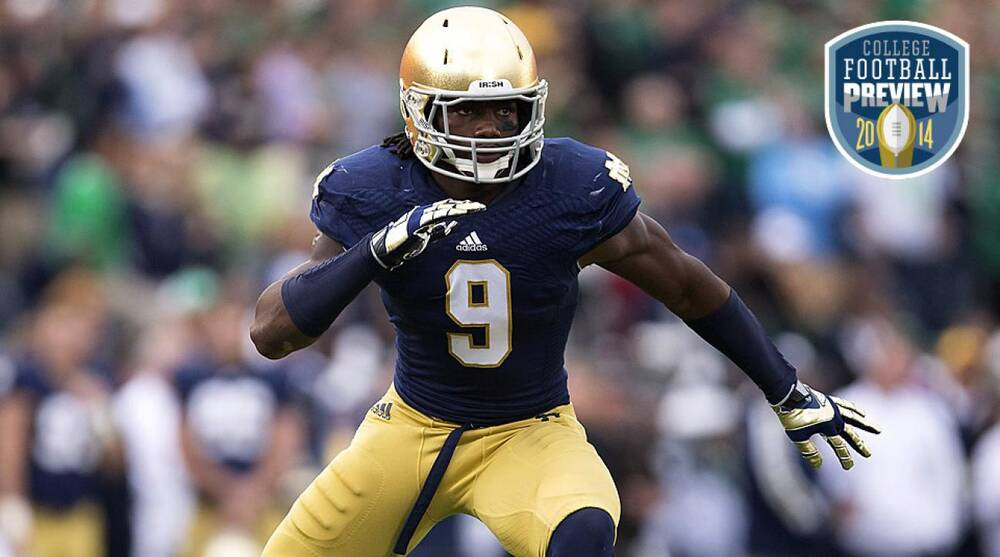 679c908643e Notre Dame's Jaylon Smith seeks every answer in pursuit of greatness ...