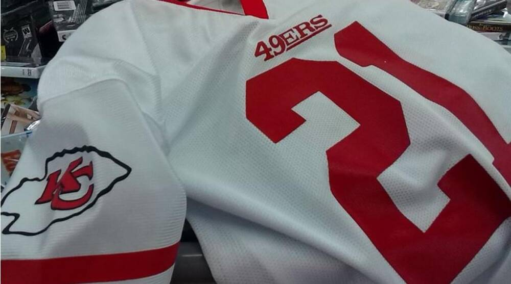 huge selection of 2700f d824e Printing mistake leads to Walmart selling Kansas City Chiefs ...
