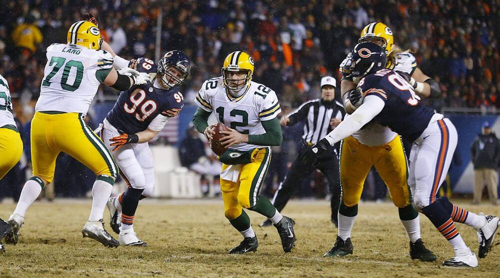 b775614fb4e NFC North preview  Can the Bears or Lions stop Aaron Rodgers and the Packers