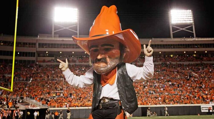 Oklahoma State Traditions Legend Of Pistol Pete Si