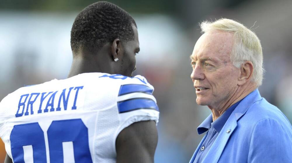 Jerry Jones Doesn T Know When Deal With Dez Bryant Will Be