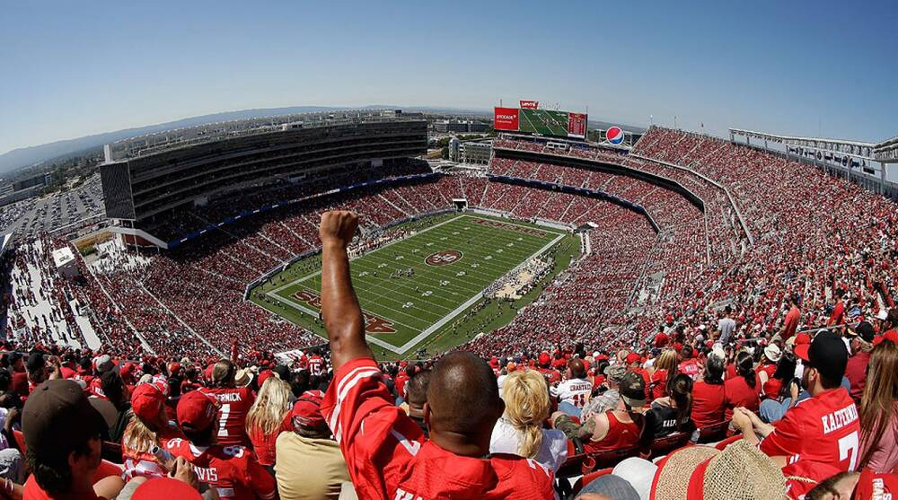 Levis Stadium Capacity >> Levi S Stadium San Francisco 49ers New Home Debuts In Nfl