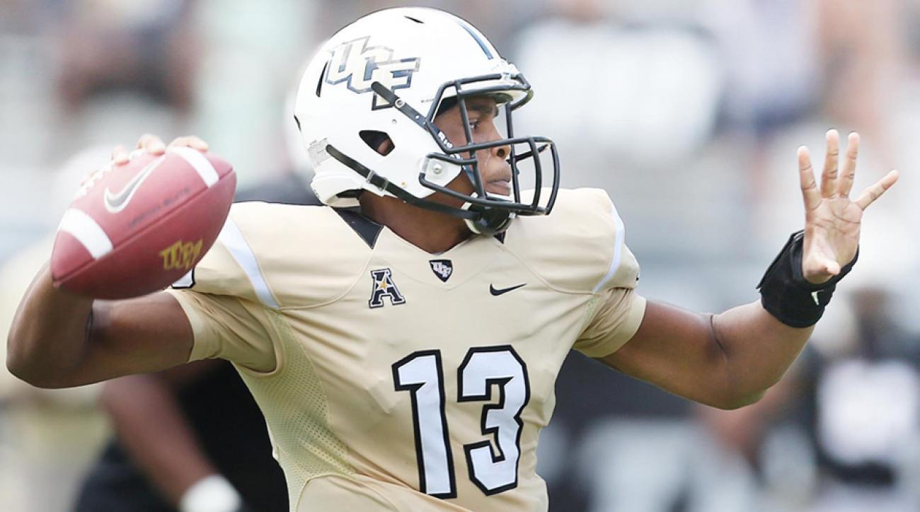 Ucf Names Justin Holman Starting Quarterback Si Com