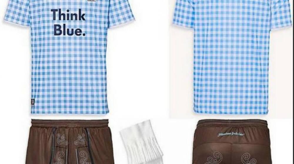 1860 Munich soccer team to wear Oktoberfest-themed uniforms  7cc1139d4