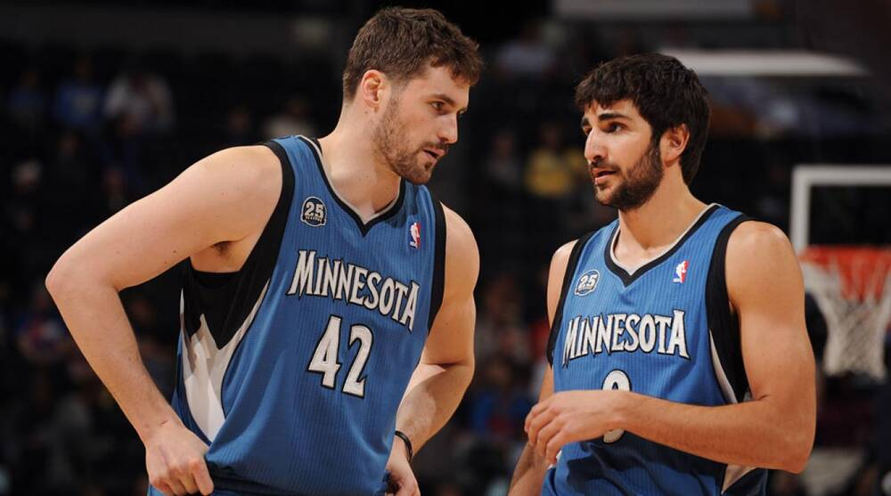 outlet store ad7ae 64c83 Ricky Rubio on post-Kevin Love Minnesota Timberwolves: 'We ...