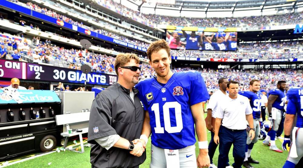 The New Look New York Giants And Eli Manning Are On An