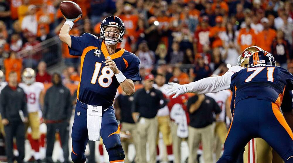 accb519c1ca4 Peyton Manning breaks NFL record for career passing touchdowns  Week ...
