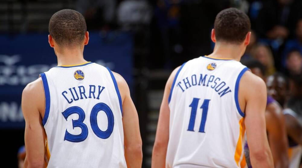 7f21f0ac0fdf Golden State Warriors  Klay Thompson tells a stranger his name is ...