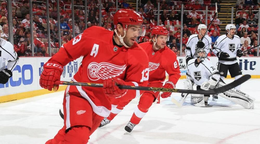 1e8429cf2ca Dave Reginek National Hockey League. Detroit Red Wings centers Pavel Datsyuk  ...