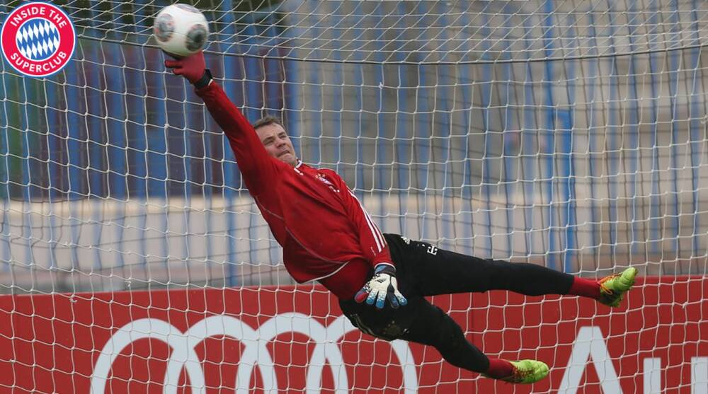 aaa252ed527 Manuel Neuer s agility and shot-stopping ability are only part of what  makes him so