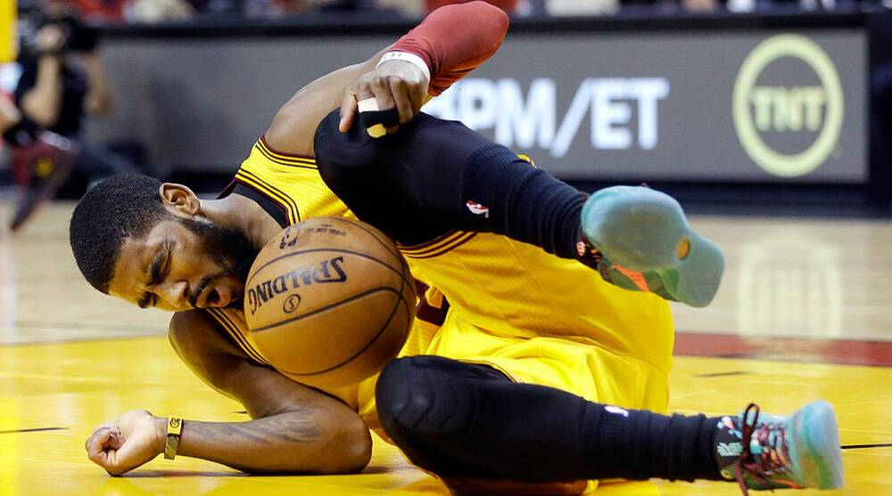 3ef46c535c67 Lynne Sladky AP. Cleveland Cavaliers point guard Kyrie Irving will not play  in Friday ...