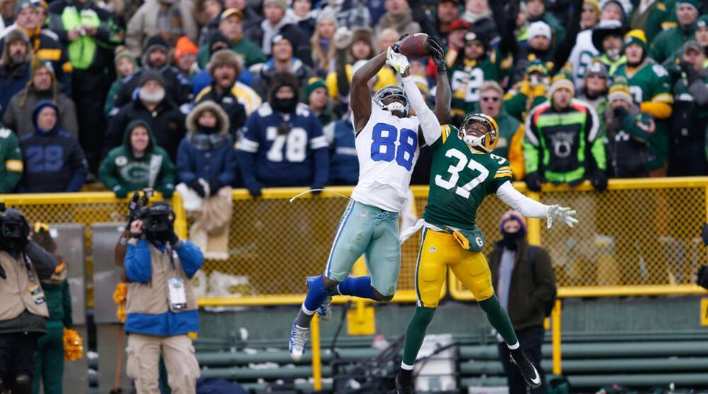 Packers Cb Sam Shields Says Dez Bryant Made Catch In Playoff