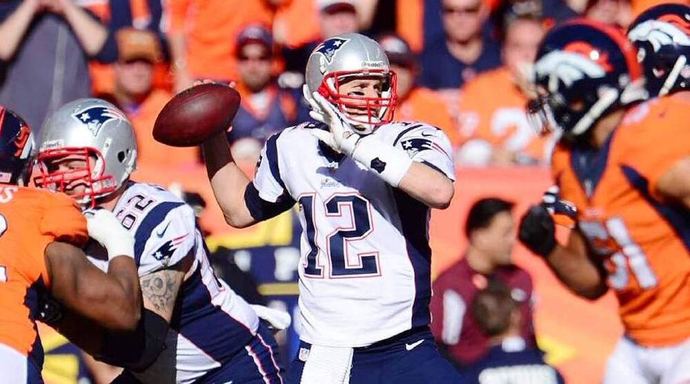 buy online 42f80 d7133 Super Bowl Media Day: New England Patriots Tom Brady   SI.com