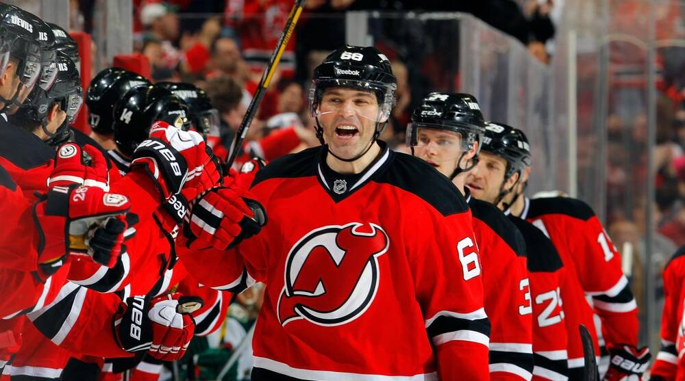 finest selection 33f4c 1c2bf NHL trade rumors: New Jersey Devils' Jaromir Jagr seeking ...