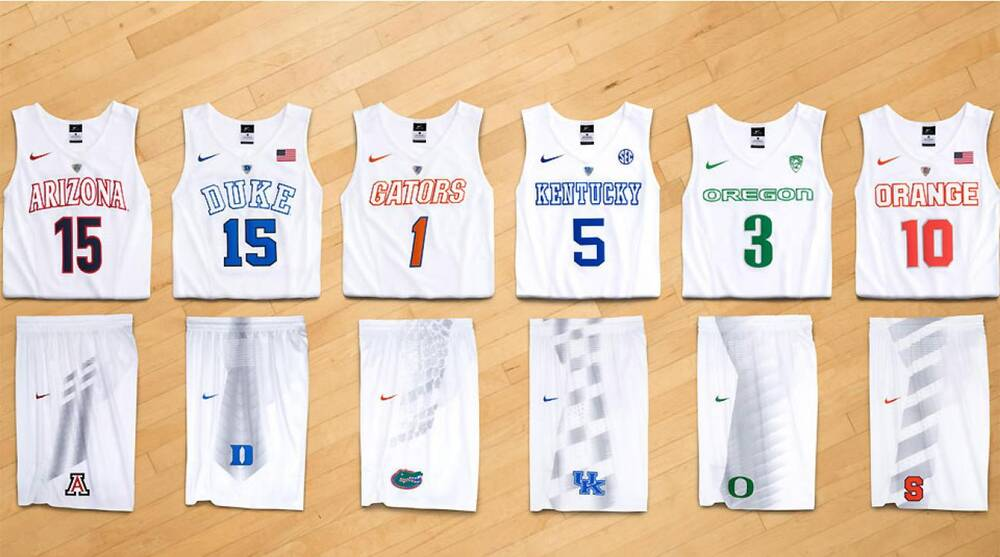newest 946cf b73a4 Nike reveals eight new NCAA uniforms, includes 'wipe zones ...