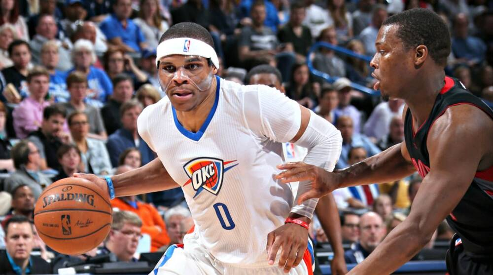 c6a8c89fe4 Layne Murdoch Jr. NBAE via Getty Images. Russell Westbrook s recent tear is  unlikely anything the NBA ...