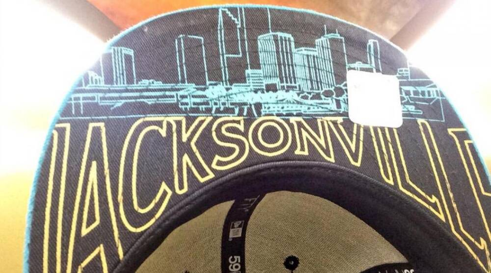Jacksonville Jaguars  NFL draft hat has the wrong skyline  3eb2fae6e8d
