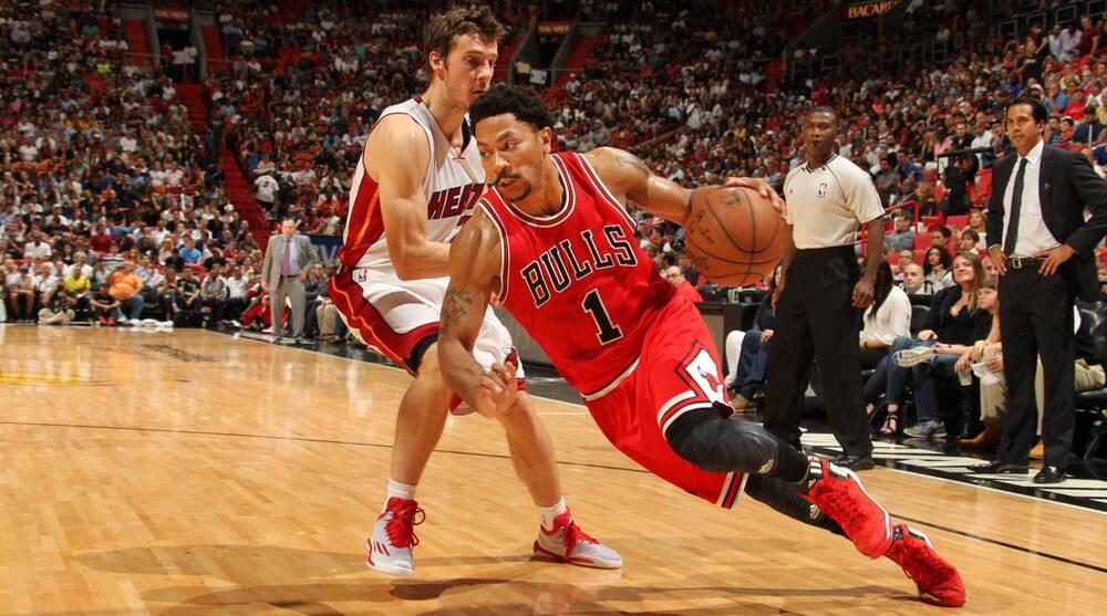 40bb334d999 Isaac Baldizon NBA. Bulls coach Tom Thibodeau says Derrick Rose will play  in the fourth quarter ...