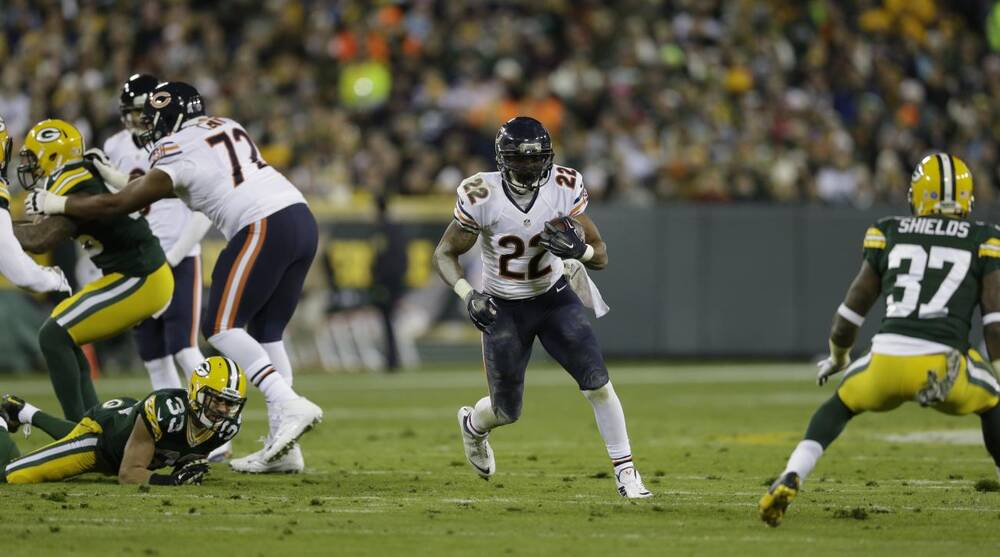 cabcec3887e Tom Lynn/Getty Images Sport. The Green Bay Packers and Chicago Bears will  clash on Thanksgiving night.