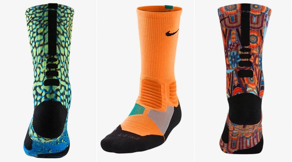 d021ee0d6 High-tech basketball socks reach new heights with Nike iD customization