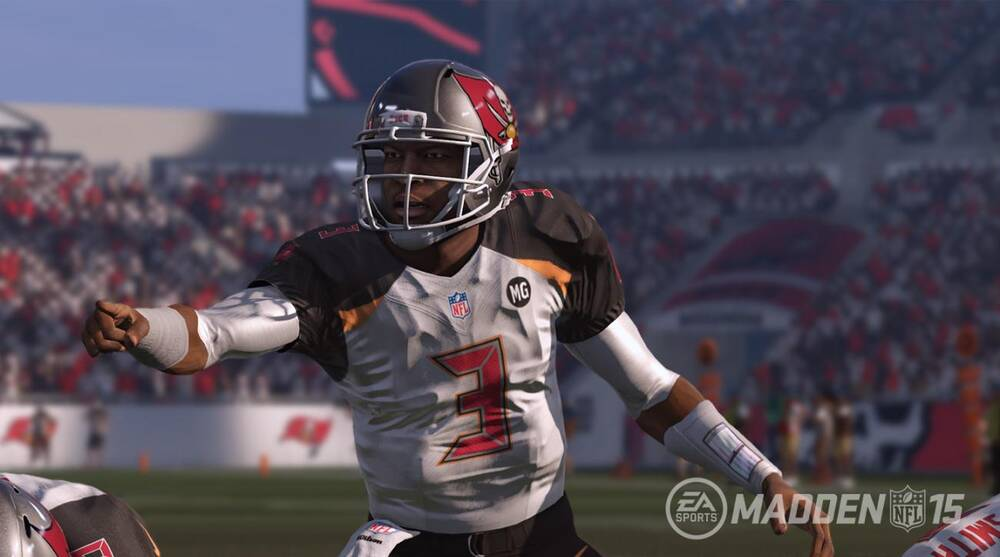 separation shoes 8b9f9 9e064 Jameis Winston drafted by Buccaneers: Madden previews jersey ...