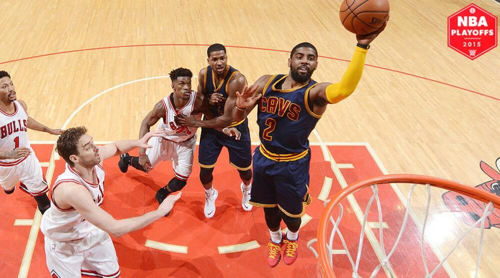 3ea7faaa833 Kyrie Irving struggled in the Cavaliers  Game 3 loss against the Bulls.