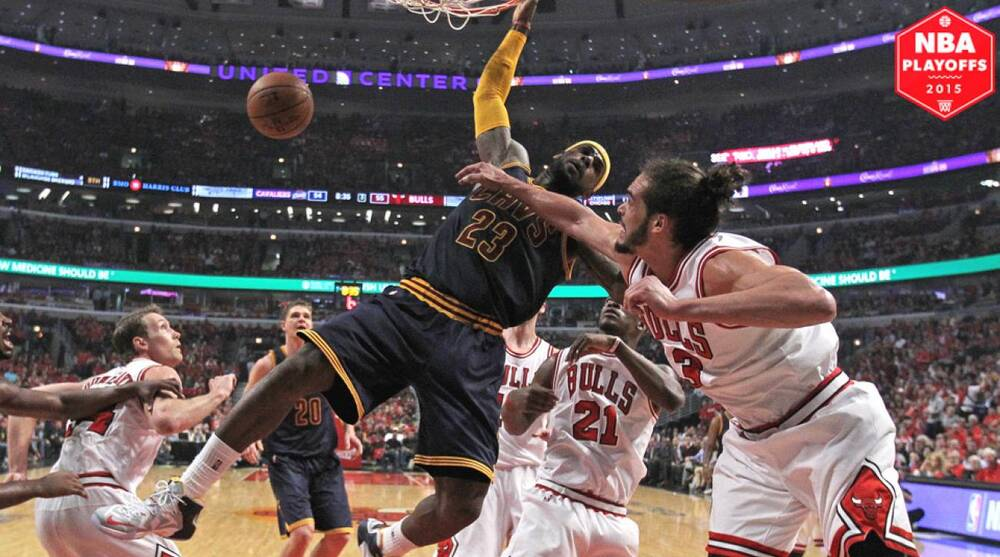 febc26fa9974 Cavaliers  LeBron James accuses Bulls  Joakim Noah of  disrespectful ...