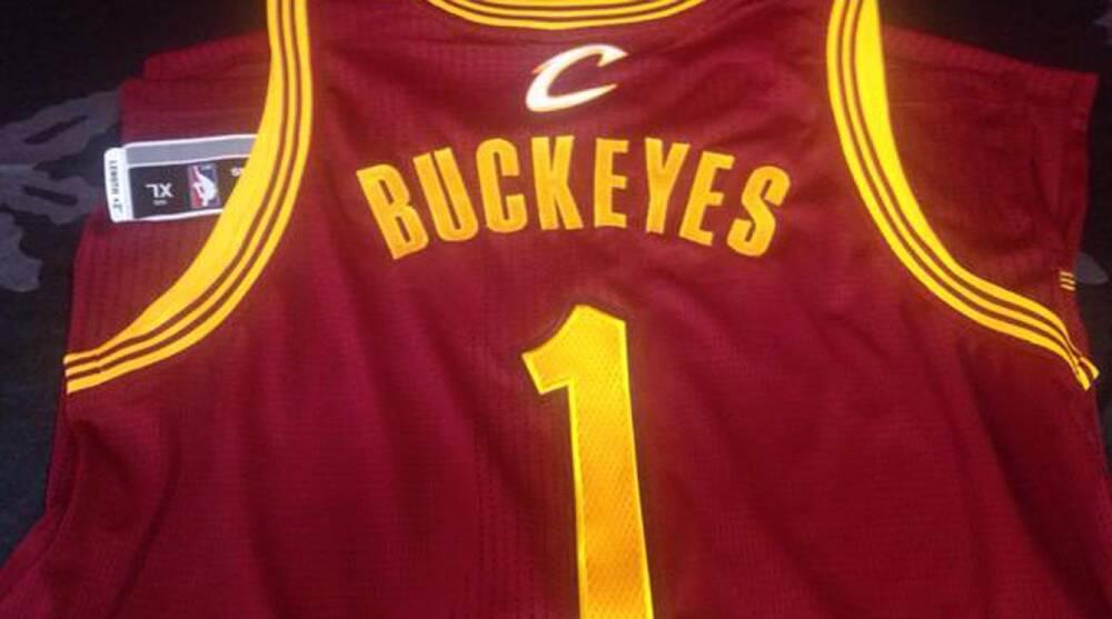 brand new ca35c 1e33f Cleveland Cavaliers: Ohio State's Urban Meyer has custom ...