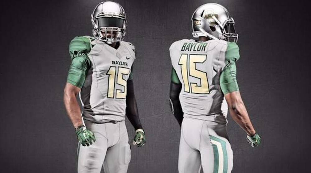 Baylor football gets new alternate uniforms for 2015 617345177