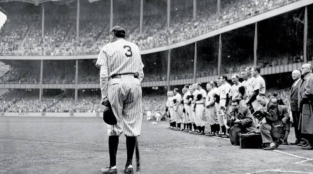 huge selection of cc24d 76cd6 Excerpt: W.C. Heinz's column about Babe Ruth's last day at ...